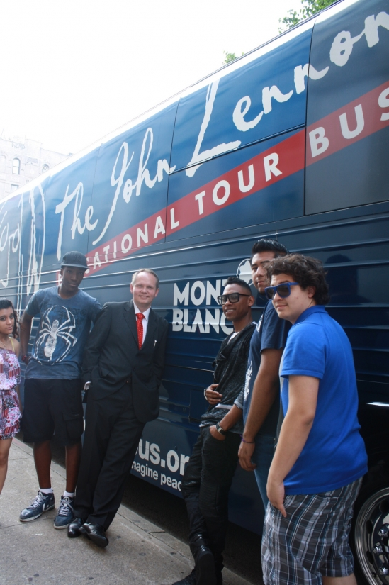 John Lennon Educational Bus